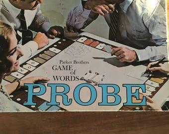 Probe board game 1960's