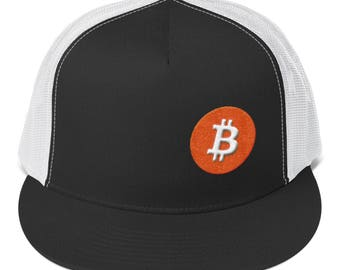 Crypto Cap Bitcoin 3D Logo