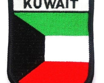 Kuwait Embroidered Patch
