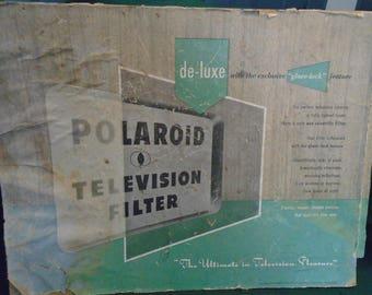 Rare 1950's Polaroid Television Filter