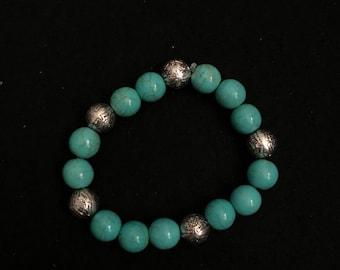 Simple Turquoise Bracelet