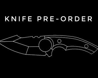 AF Tanto Ring Knife