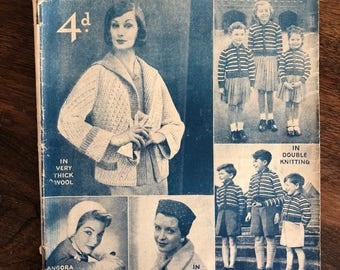 Woman's Weekly Magazine, 1958, Vintage