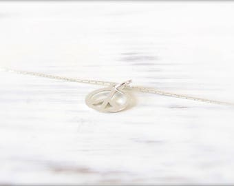 Peace | Necklace | Silver 925