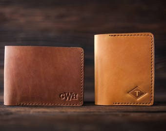 Personalized leather wallet, Mens leather wallet, mens wallet, men wallet leather, mens wallet personalized, bifold wallet, groomsmen gift