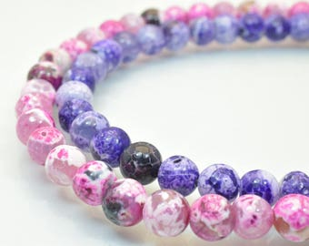 Agate Gemstone Beads Round Beads 8mm Natural Stones Beads Healing chakra stones Jewelry Making,Wholesale Agate Beads,