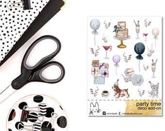 Party Time - Deco Add-On Sticker
