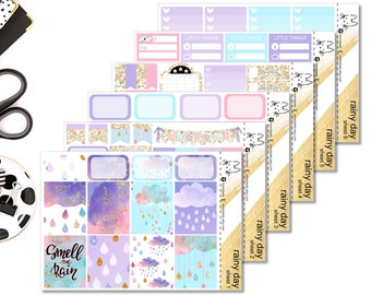 Rainy Day! Perfect For The Erin Condren Life Planner!