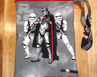 Star Wars Fabric Muddy Boot Poppins Waterproof Lined Zip Pouch  Boot Bag  Welly Bag  Wellington Bag Travel  Luggage - Wet Weather - PE -