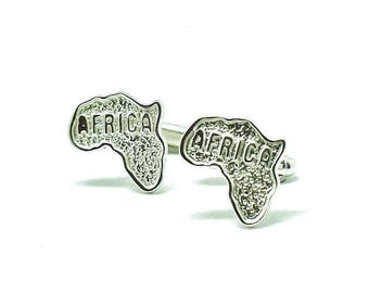 CUFFLINKS with the Africa map