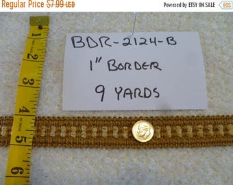 "ON SALE 1"" Border  BDR-2124-B 9 Yards"
