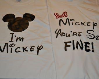 Mickey and Mickey Your So Fine T-shirt Set