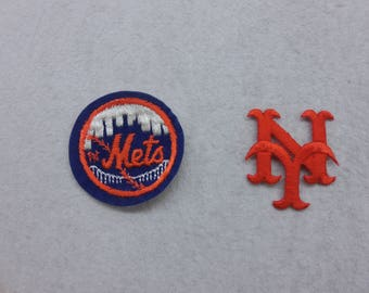 New York Mets Baseball Patches Two Options