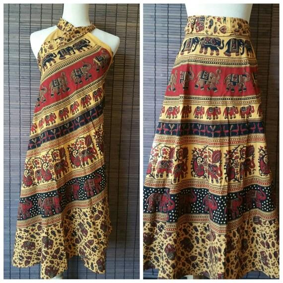Trendy Bohemian wrap skirt, Ethnic Skirt, Beach wrap skirt, Indian Skirt, Hippie Wrap Skirt, Boho Skirt, summer dress, Beach coverup