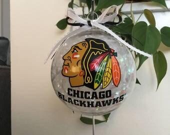 Chicago Blackhawks Ornament