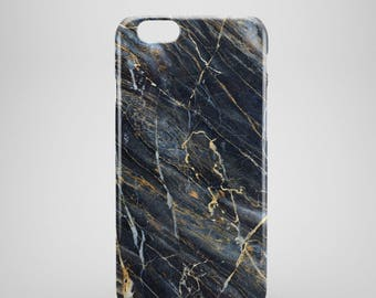 navy blue Marble iPhone 8 Case, Marble iphone 8 plus case, iPhone 8 covers, marble phone cases, Protective iPhone 8 case, iPhone x case