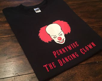 Pennywise the Dancing Clown Adult Youth Kids Unisex Shirt Inspired by Movie It