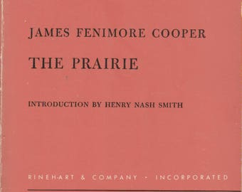 The Prairie by James Fenimore Cooper (Rinehart Editions No.26)