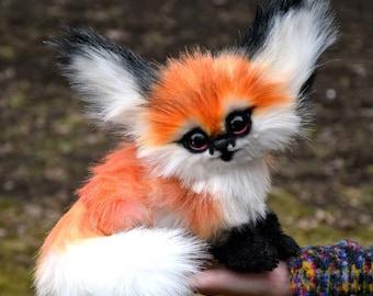 Baby face fox