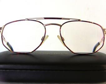 Longines Metzler Flat Aviator Men's Eyeglasses Titanium Titan Medium Sized Great Condition Eye Glasses Oval Lenses Man FREE SHIPPING Rx Him