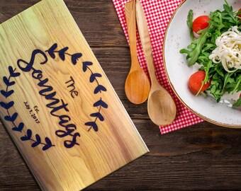 Custom Handwriting Cutting Board, Chef Cutting Board, Custom Cutting Board, Kitchen Life, Cooking Gift, Personalized Wedding, Kitchen Decor