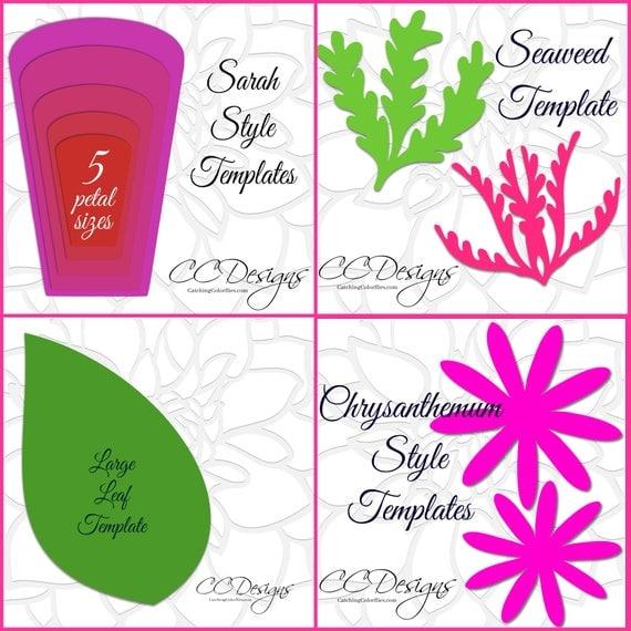 DIY Giant Backdrop Paper flower templates & tutorial, DIY Paper ...