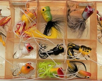 Vintage Fly Rod Bass Bug Lures and Flies, #3