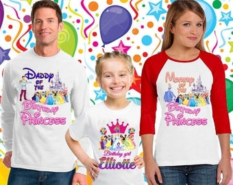 15% Off Cinderella birthday shirt/disney princess shirt/disney family vacation shirt/frozen shirt/birthday princess shirt /22 familydisney
