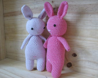 little bunny, mouse diabolo handmade crochet