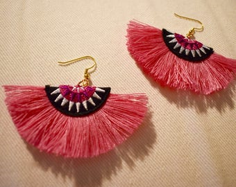 Tutti Fruity Tassel Earrings