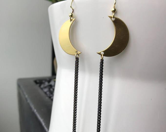 Eclipse Dangle Earrings