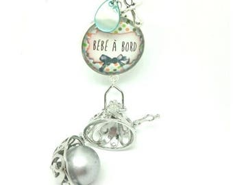 Pregnancy's Bola mixed cabochons 25mm - hand made by LesBijouxdeKarine