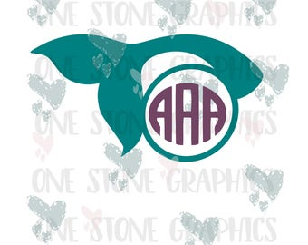 Mermaid monogram,mermaid monogram svg,mermaid tail,mermaid tail monogram svg,svg file,monogram,monogram frame,mermaid,tail,monogram frame