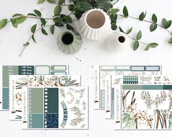 Boho Cotton    Weekly Sticker Kit (100+ Planner Stickers)    Erin Condren, Happy Planner, Recollections    SeattleKangarooPlans