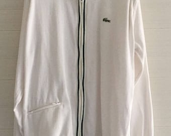 Lacoste Blouson jacket made in France 1966 Super Rare