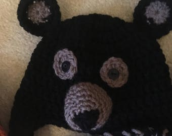 Woodland Bear Earflap Hat