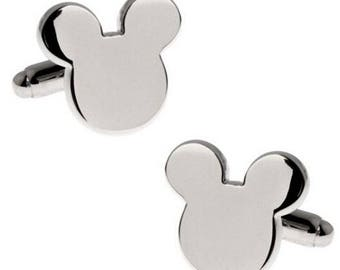 Micky Mouse Cufflink-BIG -B91,92