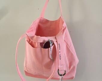 Inspiring Canvas Pink Shoulder Bag