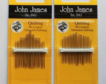 John James Needles - Quilting Needles