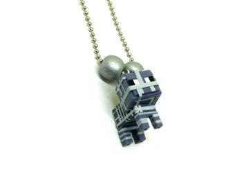 Minecraft Mummified Sheep boys ball chain necklace - Minecraft necklace