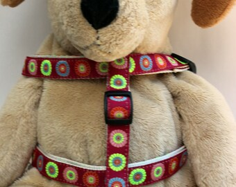 Sahara Rose Step-In Dog Harness