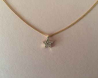 Crystal Star Bridesmaid Necklace Gift