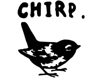 Chirp decal