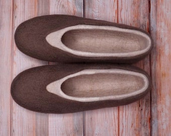 Summer Slippers Wool Slippers Felted Slippers Woman Slippers Warm Slippers Winter Slippers Home Shoes Natural Slippers Eco Slippers