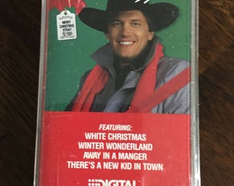 George Strait Merry Christmas Strait To You Cassette