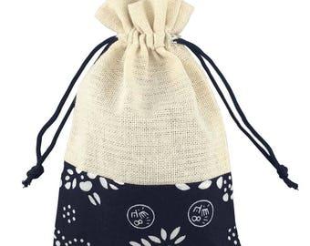 Linen drawstring bag | Etsy