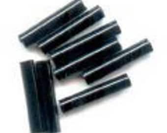 Buggles miuky black JET 6mm 7 grams