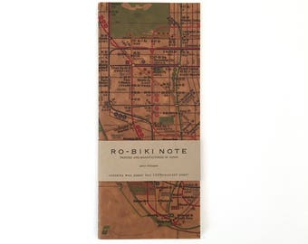 NEW Ro-Biki Notebook - New York Metro Map