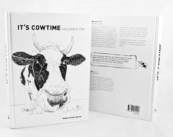 It's cowtime calendar 2018-Year planner for 2018 with good purpose