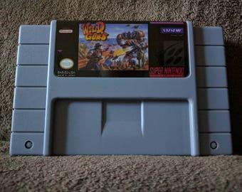 Wild Guns Super Nintendo SNES Repro - Free Shipping
